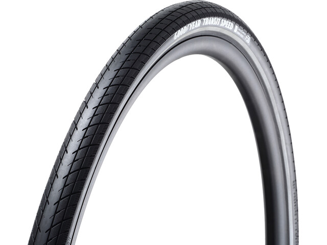 Goodyear Transit Speed Foldedæk 40-622 Tubeless Complete Dynamic Silica4 e50, black reflected